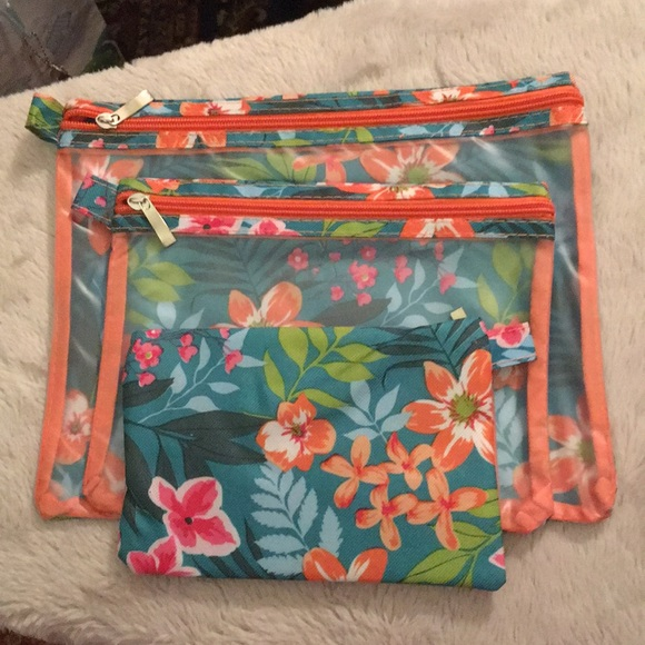 Handbags - 3 sizes of cosmetic bags